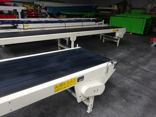 4x lopende band: 10000 x 800 mm